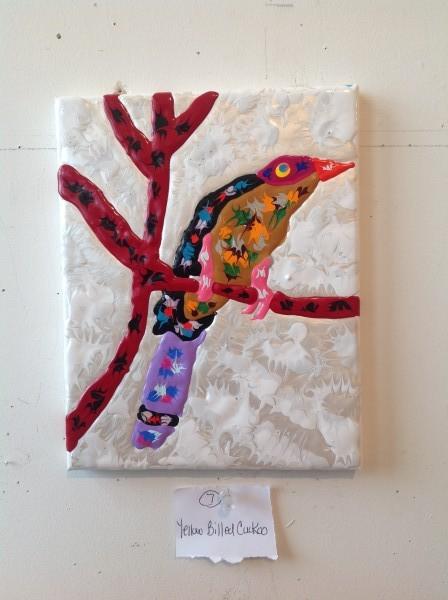 Yellowbilled Cuckoo 8x10
